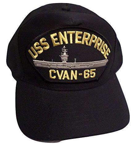 Uss Enterprise Navy - EAGLE CREST USS Enterprise CVAN-65 Navy Ship Hat U.S Military Official Ball Cap U.S.A Made