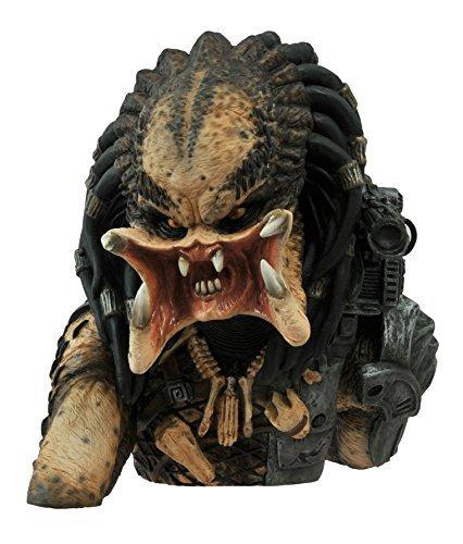 Diamond Select Toys Predator: Unmasked Vinyl Bust Bank Statue by Diamond Select