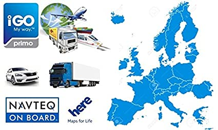 iGO Primo 3D CAR GPS Navigation Software with EUROPE Maps micro SD