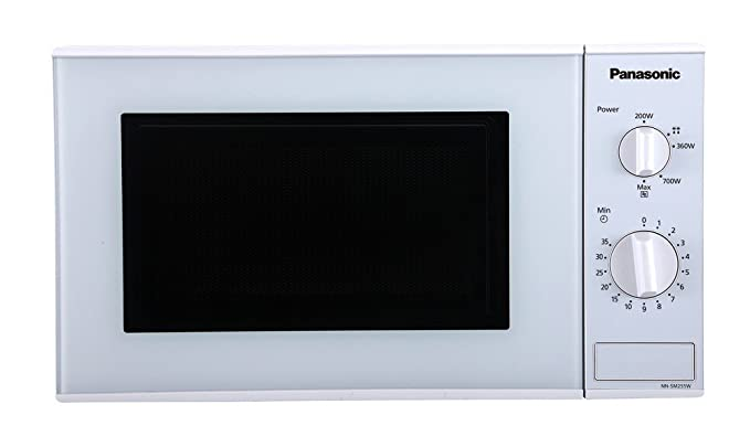 panasonic 20 l solo microwave oven nn sm255wfdg white amazon in rh amazon in panasonic replacement microwave feed guide Panasonic Black Microwave