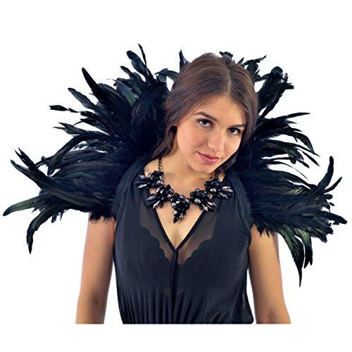 Zucker Feather (TM) - Feather Collar Black ()