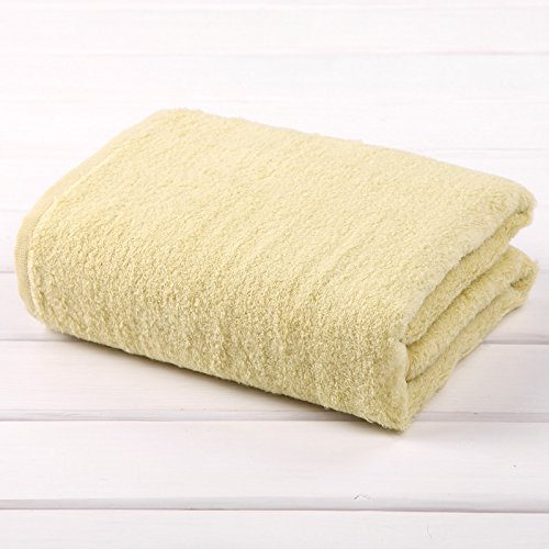 TDLC The new no-twist yarn towel adult men, the children's bath towels bath towel,G green by TDLC