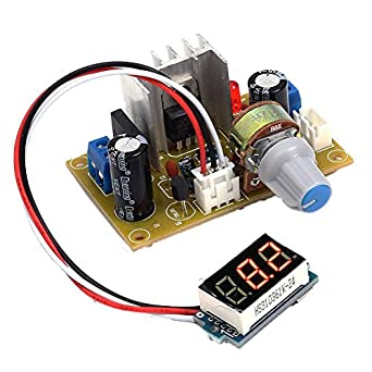 amazon com icstation lm317 digital adjustable ac dc to dc voltage rh amazon com