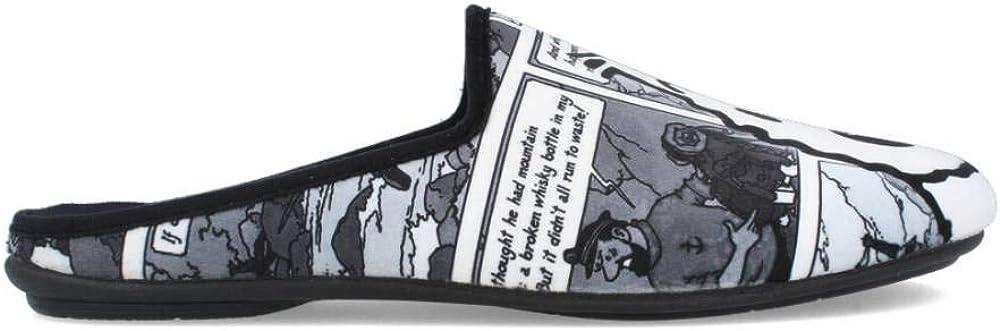 Zapatillas de Casa Tint/ín y Mil/ú Isasa