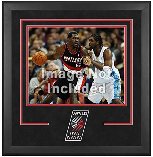 Portland Trail Blazers Deluxe 16'' x 20'' Frame - Fanatics Authentic Certified - NBA Other Display Cases by Sports Memorabilia