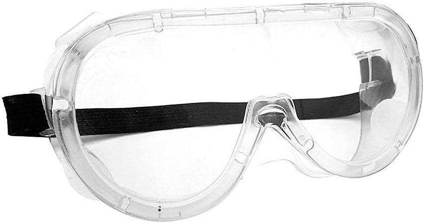 3 St/ück Werkstatt und Fahrrad Brillen Baustelle Augenschutz Vollsichtschutzbrille /Überbrille f/ür Brillentr/äger Chemie Laborbrille F/ür Labor Padgene Antibeschlag Schutzbrille