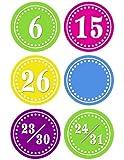Teacher Created Resources Bright Circles Calendar Days (5187)