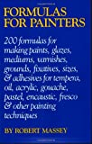 Formulas for Painters, Robert Massey, 0823018776