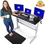 Best Treadmill Desks - Transcendesk Standing Desk - 55 inch Long Review
