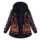 Big Promotion ! Coats,BeautyVan Women Christmas Winter Loose Pockets Thicker Hooded Coat Jackets Outwear