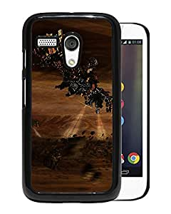 Unique DIY Designed Cover Case For Motorola Moto G With Satellite Fantasy Mobile Wallpaper Phone Case