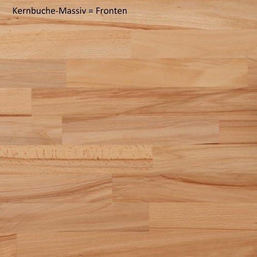 REGAL Aktenschrank B/üroschrank Standregal Aktenregal Kernbuche 2687