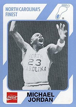 release date 0a35c b92a8 Michael Jordan 1989 North Carolina Tar Heels Collegiate Collection  65  College ROOKIE Card in Mint
