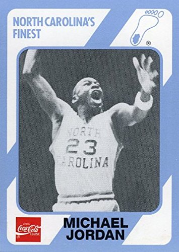 Michael Jordan 1989 North Carolina Tar Heels Collegiate Collection #65 College ROOKIE Card in Mint Condition ! Shipped in Ultra Pro Top Loader to Protect it !