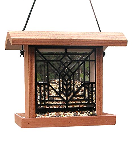 Frank Lloyd Wright(R) Art Glass Birdfeeder
