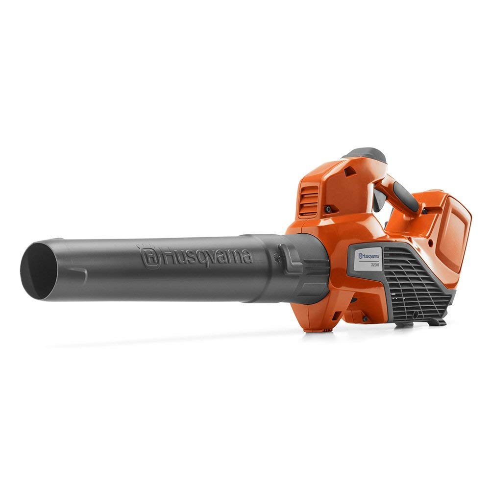 Husqvarna 320iB Cordless Handheld Leaf Blower w Battery Renewed