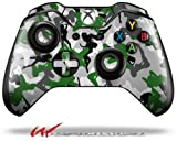 Sexy Girl Silhouette Camo Green – Decal Style Skin fits Microsoft XBOX One Wireless Controller (CONTROLLER NOT INCLUDED) Review