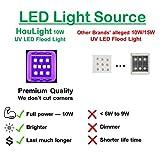 UV LED Black Light, 2 Pack HouLight High Power 10W