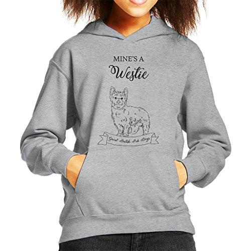 Westie Kids Hoodie - 2