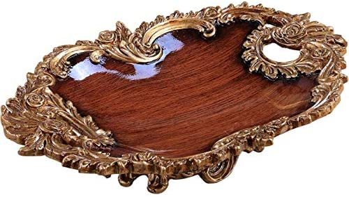 Sensational Amazon Com Woiow Beautiful Decorative Tray Functional Download Free Architecture Designs Grimeyleaguecom