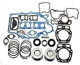 Kawasaki Mule 2500, 2510, 3000, 3010 (KAF620) Engine Rebuilt Kit with 2 Oversize Pistons and Rings