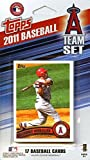 Los Angeles Angels of Anaheim 2011 Topps Factory Sealed Special Edition 17 Card Team Set with Torii Hunter Jered Weaver Plus