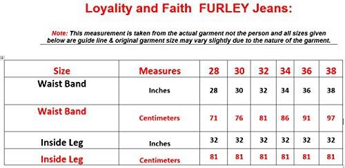 Men Loyality and Faith FURLEY Jeans Black 32R