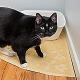 Corner-Cat-Litter-Mat-XL-Size-23-x-23-Fits-Regular-And-Corner-Litter-Boxes