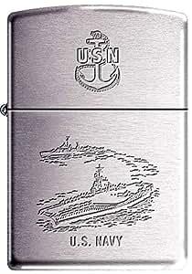 Zippo USN Navy Carrier Destroyer Military Zippo Lighter