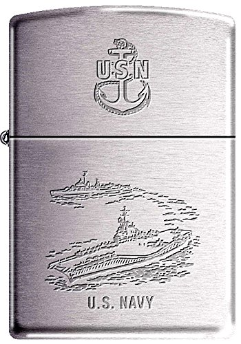 Destroyer Military - Zippo USN Navy Carrier Destroyer Military Zippo Lighter