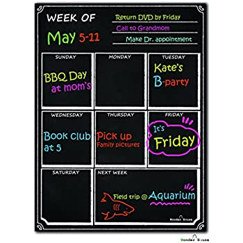 Amazon.com : Bigtime Weekly Family Calendar Planner / Day