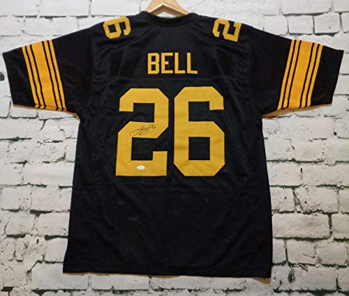 7bff4b473be Le Veon Bell Signed Autographed Pittsburgh Steelers Rush Football Jersey -  JSA COA