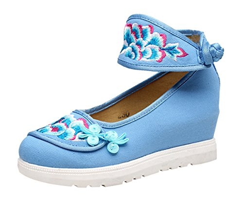 SK Studio Women's Closed Blue 53jNXcpuDr