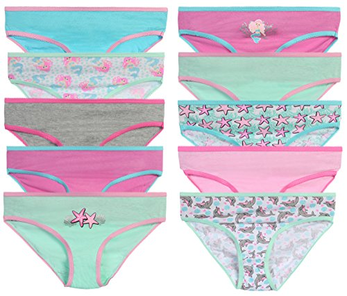 Hanes Girls Big Girls Bikini 10-Pack