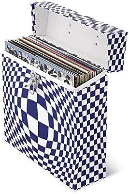Almacenamiento de discos de vinilo El caso que lleva LP caja del ...
