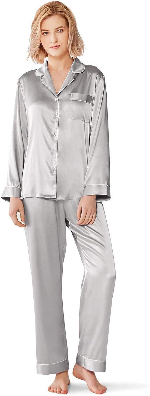 SIORO Silky Pajamas Satin...