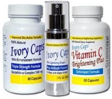 System 1 Ivory Caps Complete Lightening Support Cream Vitamin C Fast Shipping By Viyada Shop