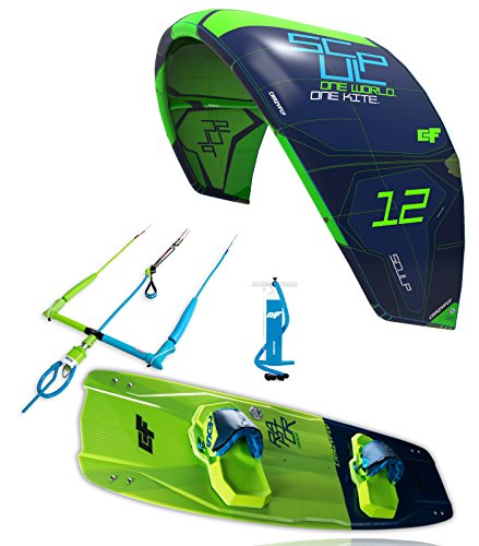 CrazyFly Kiteboarding 2018 Sculp 9 m Kite & Raptor 140 x 42 Tarjeta Package, Green, 9 XCEQP|#CrazyFly Kiteboarding 1011
