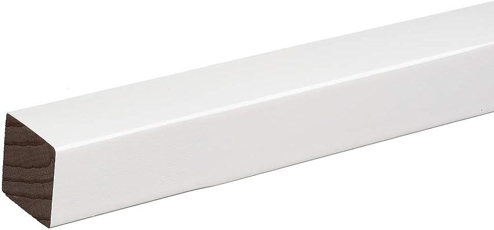 1 St/ück Quadratleiste Abschlussleiste Sockelleiste Eiche GE/ÖLT 20x20x2300mm SPARPAKET 2,3lfm