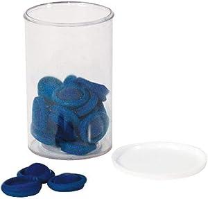 Medique Products 68235 Blue Finger Cot, Medium, 144 Count