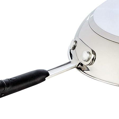 AmazonBasics - Juego de sartenes de inducción de acero ...