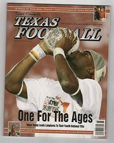 2005 Dave Campbell's Texas Football Longhorns National Championship Edition