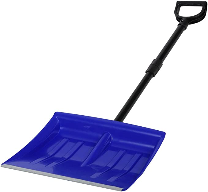 Jago Pelle /à Neige Coloris//Quantit/é au Choix Pelle /à Neige dhiver Longueur Totale 120 cm D/émontable Pelle Poussoir Poign/ée et Pelle en Plastique