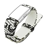 Bands only, Tracker NOT included.KisFace Fitbit Charge 2 Replacement Bands Photo Printing Series with Various TopicOur Idea:Simple but Perfect! Show what you want to show!Everything is Easy:Adjustment: Smallest adjustable dimension can reach 3 mm.Rep...
