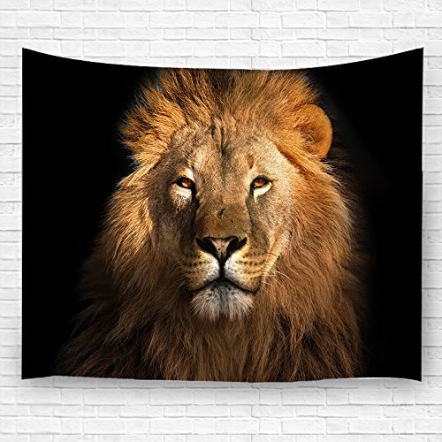 Shop Tapestry Wall Hanging - LK'S SHOP Lion Wall Tapestry Hippie Art Tapestry Wall Hanging Home Decor for Bedroom Living Room Dorm Room 60x80 inches (5)