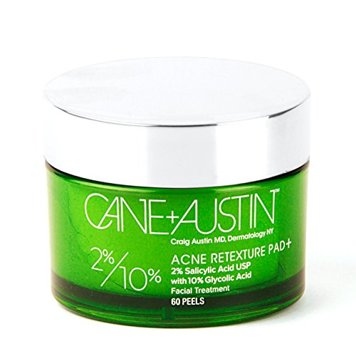 CANE + AUSTIN Acne Retexture Pad Plus, Salicylic and Glycolic Acids