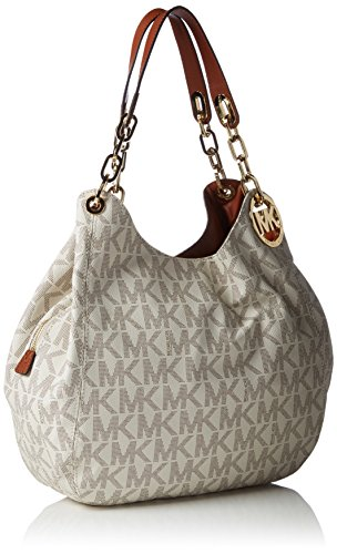 728e5a7a71c21f Michael Kors Fulton Large Shoulder Vanilla Tote - Import It All