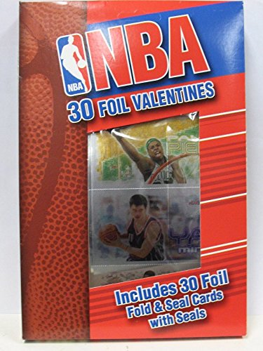 NBA 2004 Box Of Foil Valentine Cards 30 Count New LeBron James Rookie Year