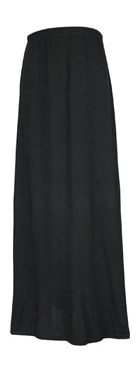 1c31935efe Ozmoint Girls Kids Child Long Maxi Skirt Elasticated Waist Modest Abaya  Stretch Skirts(13 Colours 7-13 Years): Amazon.co.uk: Clothing