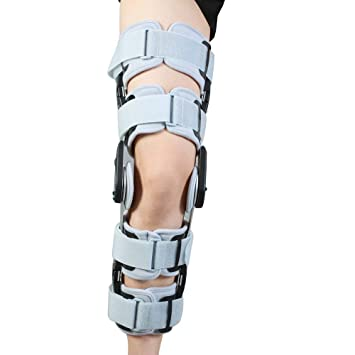 cf793f7769 Hinged Knee Brace Support Adjustable ROM Knee Brace Patella Knee Splint  Brace Knee Brace Stabilizer Knee